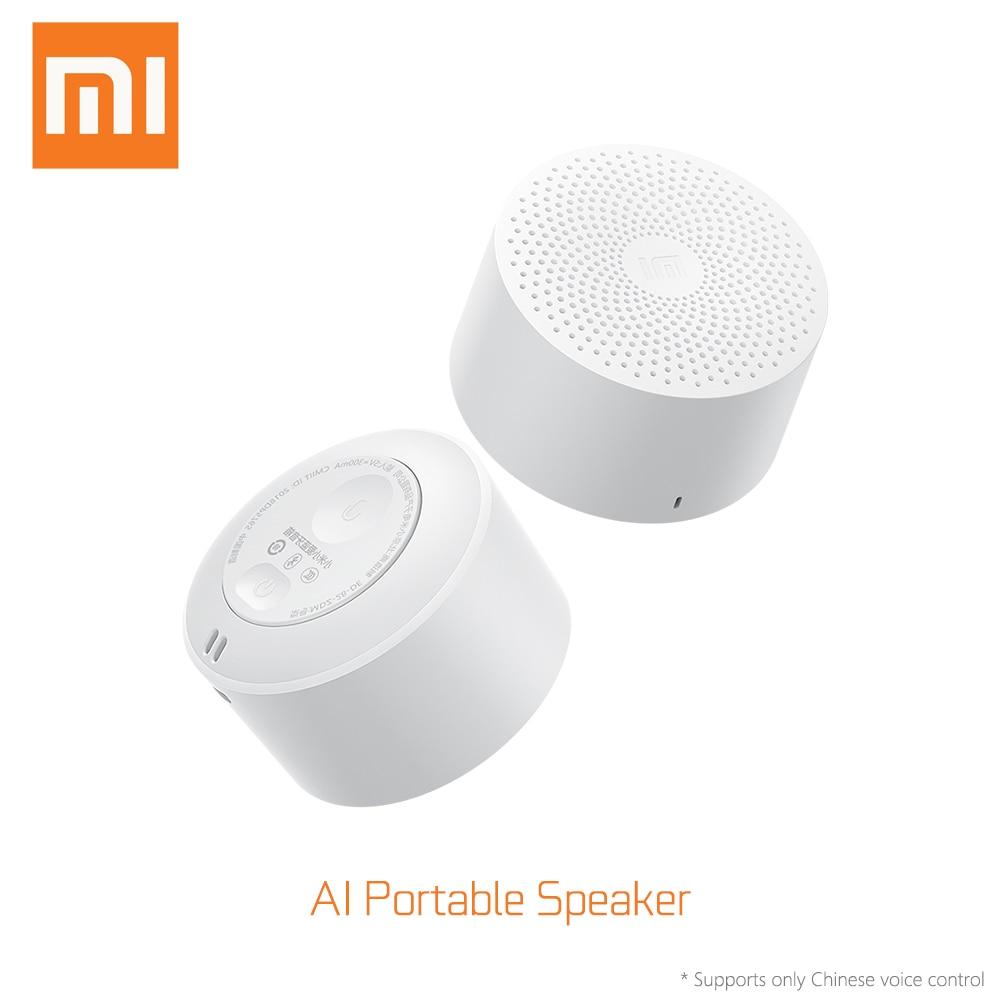 Xiaomi Originais AI Vida Esportes Mini Speaker Música Áudio Bluetooth Speaker Portátil À Prova D' Água Moda Pequenos Alto-falantes AI Speaker