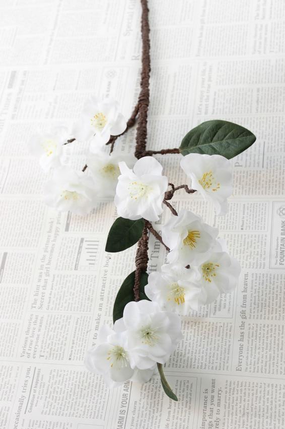 2018 Rushed Sale Դեկորատիվ Pu Cherry Blossom - Տոնական պարագաներ - Լուսանկար 5