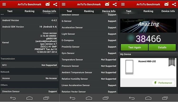Международная прошивка Huawei Honor 6 4G LTE мобильный телефон 8 ядер ОС Android 4,4 5 дюймов Full HD 1920X1080 3 ГБ/32 ГБ Встроенная память 13.0MP NFC