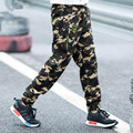 Hot Sale Children's Pants Spring and Autumn 2016 Big Boys Sport Pants Casual Students Camouflage Trousers 3 Colors