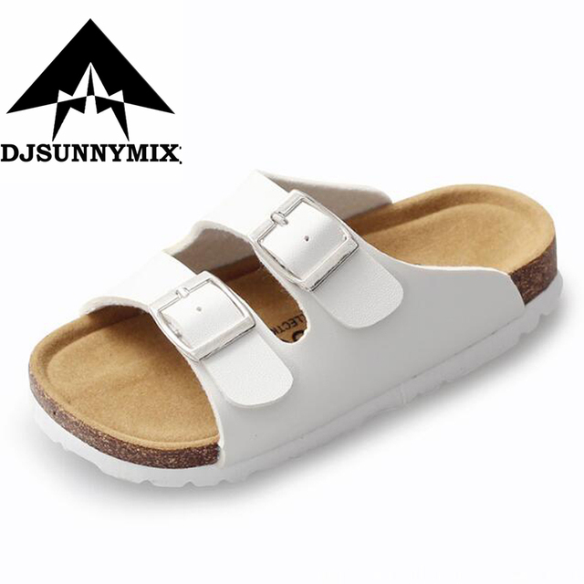 b37f4ffb741320 DJSUNNYMIX Sandals For Children Sandals Girls And Boys Sandals Breathable  Flats Shoes Summer Comfortable leather sandal