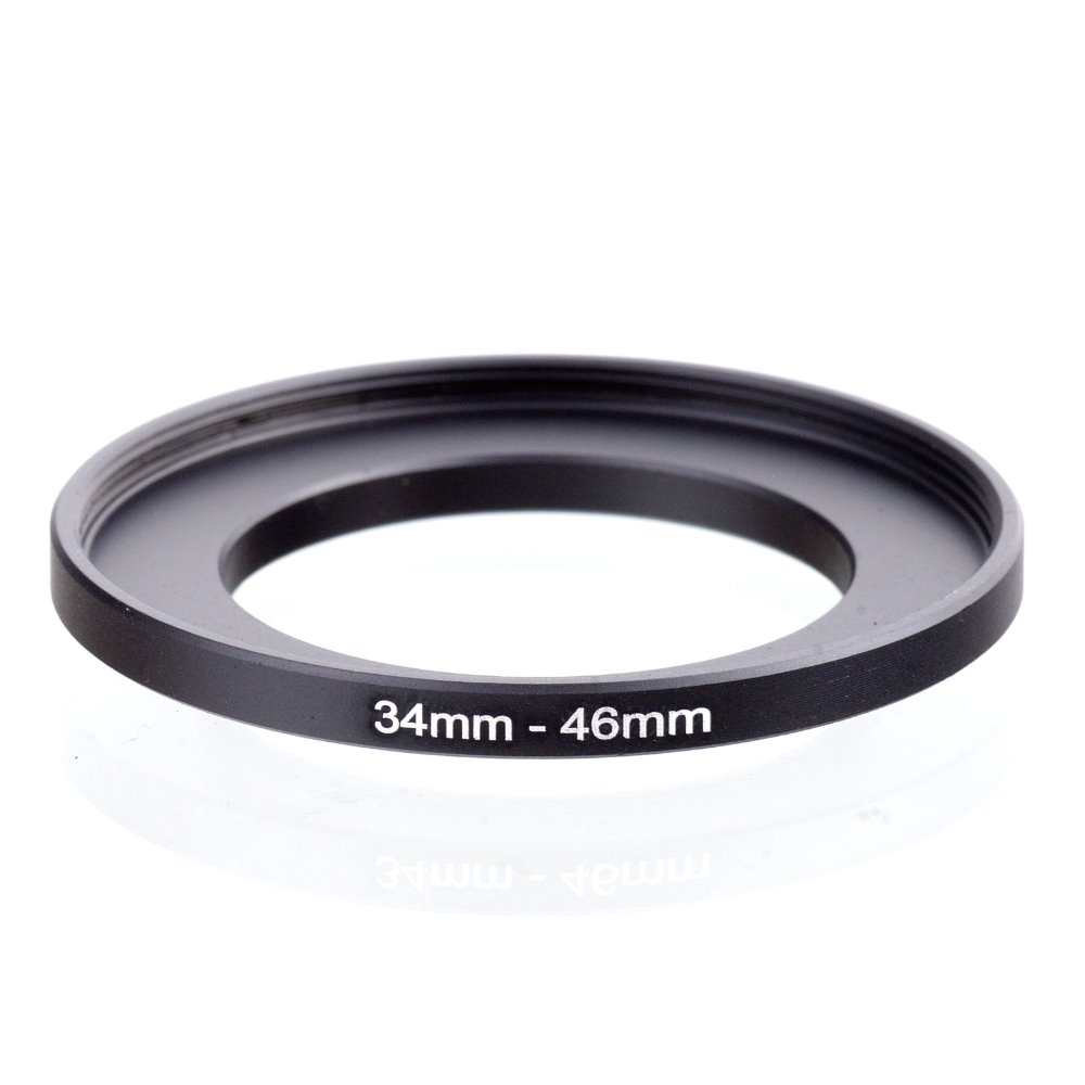 original RISE(UK) 34mm-46mm 34-46mm 34 to 46 Step Up Ring Filter Adapter black free shipping