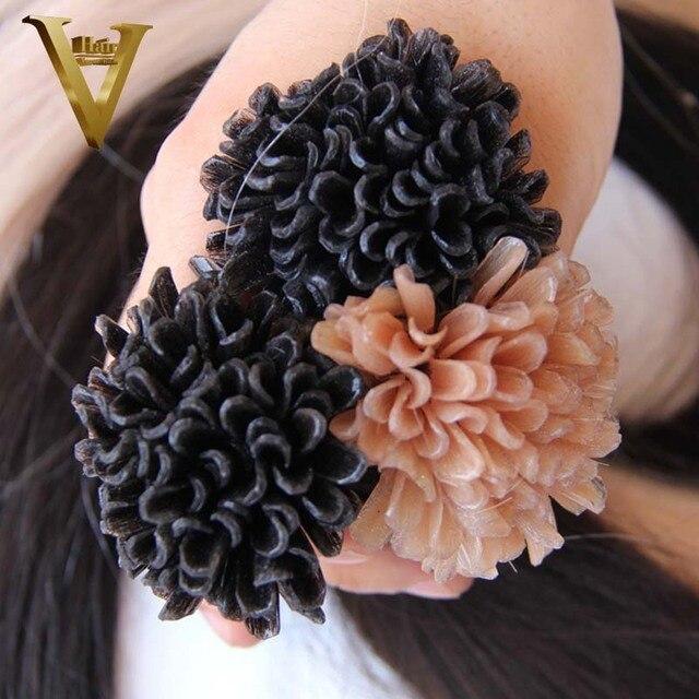 Whole 2 Dark Brown Nail U Tip Remy Human Hair Extensions