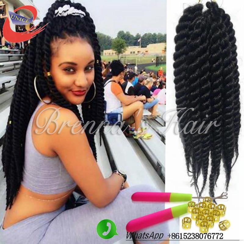 hairstyles crochet havana mambo twist havana seneglese braids, box ...