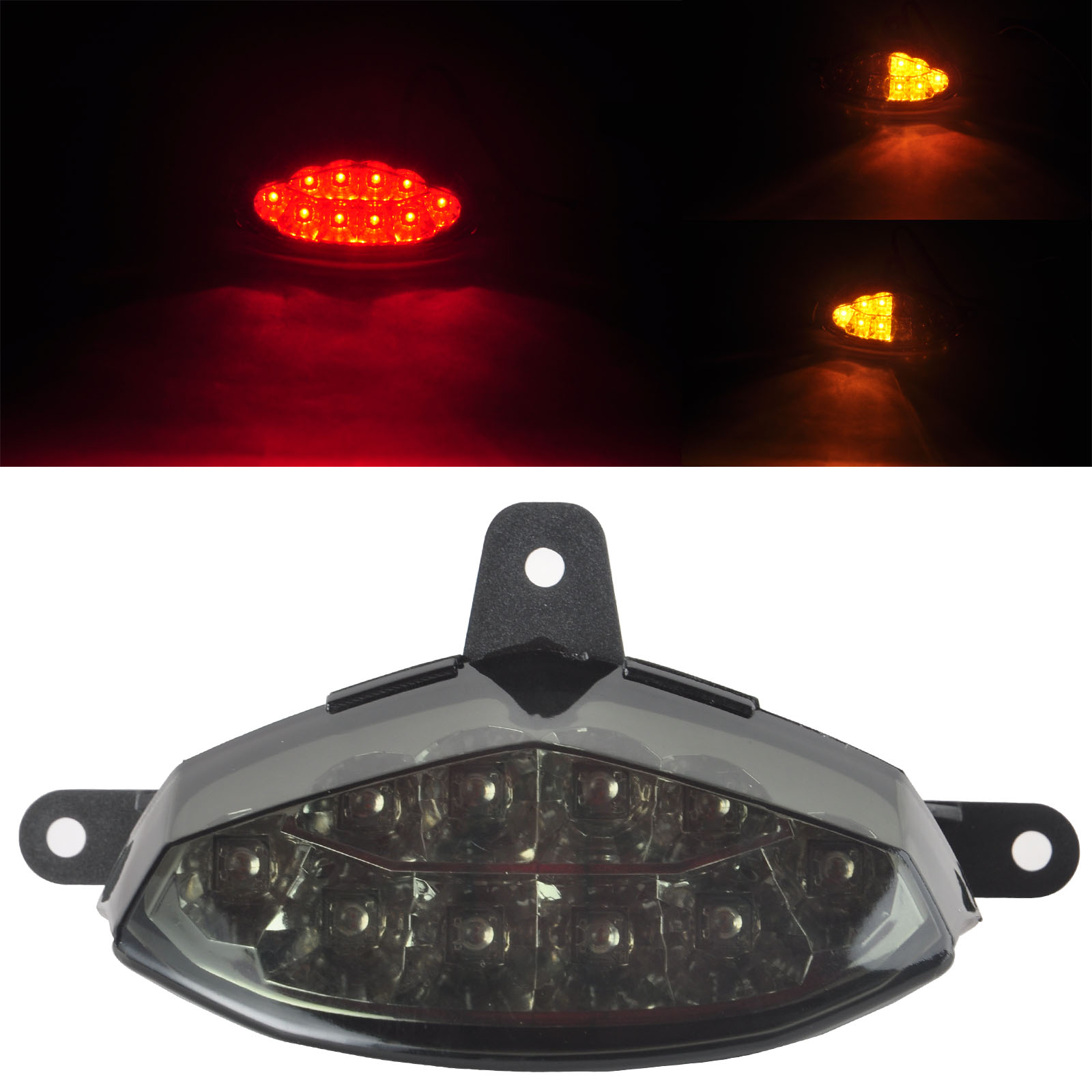 2016 New LED Tail Light Turning Signals Lamp Smoke Lens LED Tail Light For  KTM Duke
