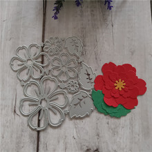 Hot Sales DIY Handicrafts Flower For Metal Cutting Dies Stencil Cuts Album Paper Card Making Decoration Scrapbooking Dies