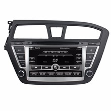 Touch screen HD 2 din 8″ Car Radio DVD Player for HYUNDAI i20 2014 2015 With GPS Bluetooth ipod SWC USB TV AUX IN