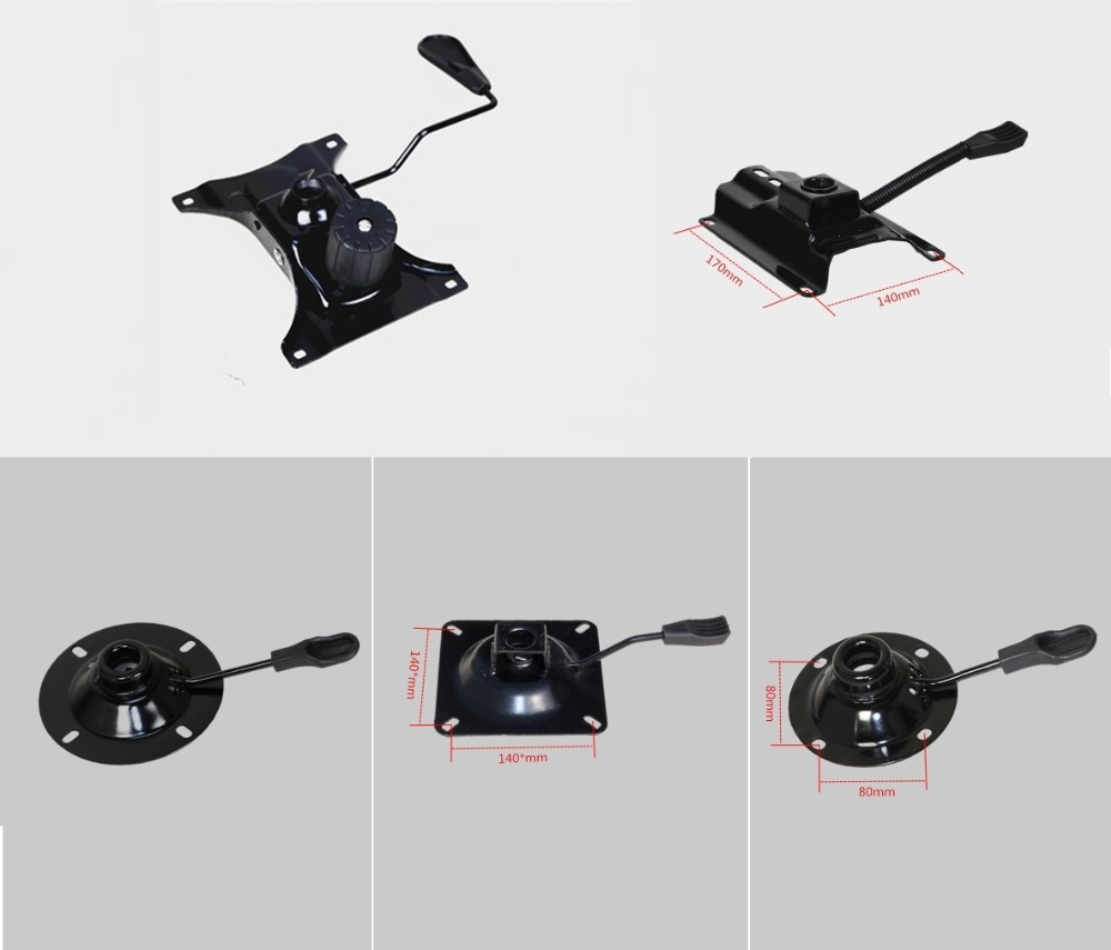 Office Chair Part Seat Plate Bottom Base Replacement Mechanism Control Tilt Lever Height trigger controller