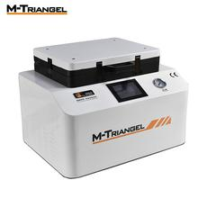 M-Triangel 12'' inch Vacuum Laminating Bubble Remover In One Flat Screen Iphone Samsung Huawei Mobile Phone LCD Screen Automatic 2 in 1 automatic vacuum laminating machine bubble remover machine built in pump and air compressor with automatic lock