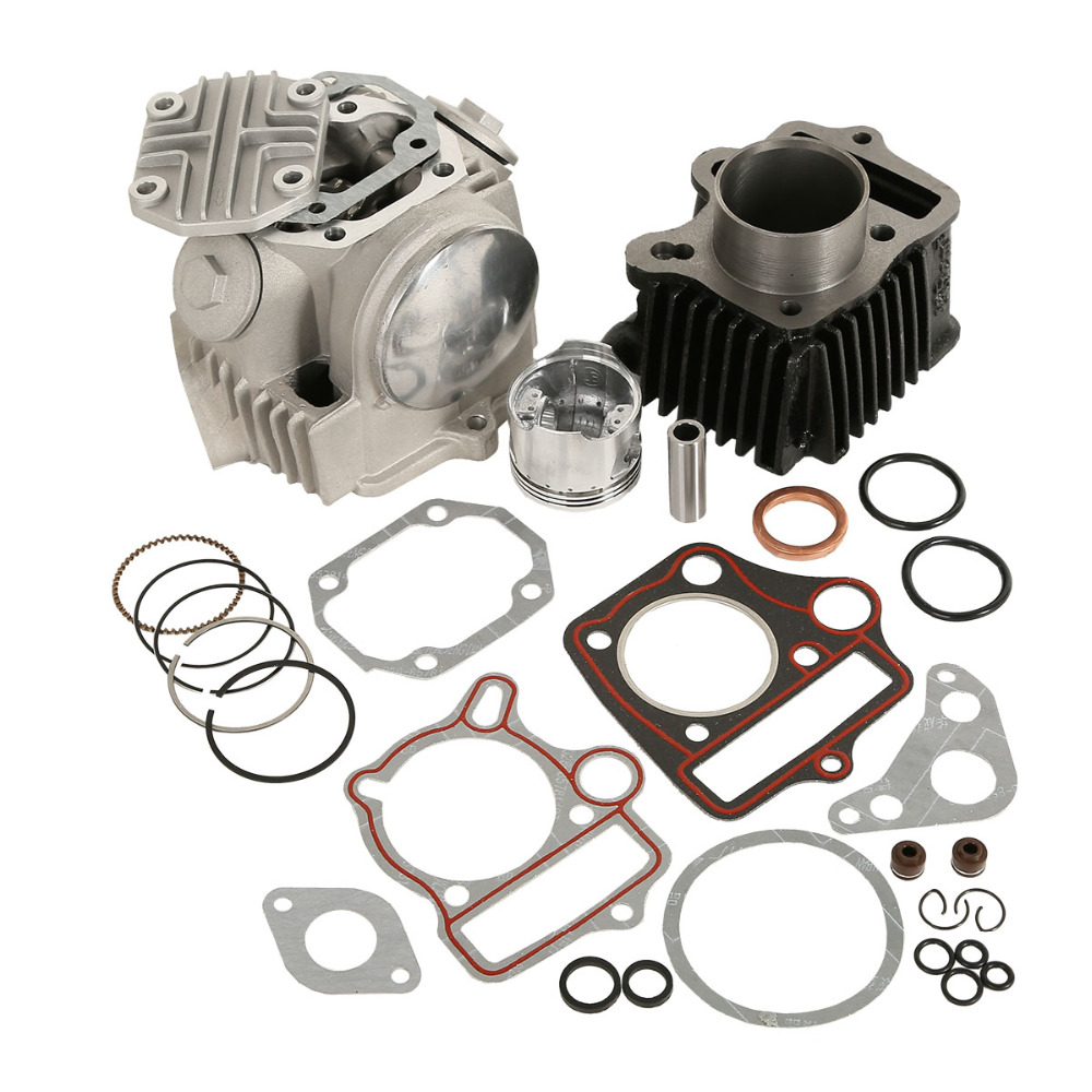Image 3 - Motorcycle Cylinder Engine Motor Rebuild For Honda ATC70 CT70 TRX70 CRF70 XR70 70CC 49.5CM3-in Pistons & Rings from Automobiles & Motorcycles
