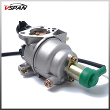 Vspan Free Shipping New Carburetor Kit For Honda GX390 13HP Generator /Engine /Motor Chinese 188F Generator Engine Free Gaskets стоимость