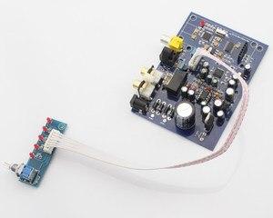 Image 5 - Placa de decodificador de cuatro canales AK4490 + AK4118, 15W, con USB coaxial de fibra (tarjeta hija para agregar USB), analógica, cuatro entradas