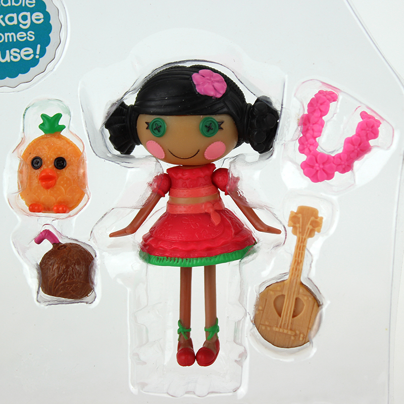 Hot 3Inch Original MGA Lalaloopsy Dolls With The Accessories ,Mini Dolls For Girl's Toy Playhouse Each Unique