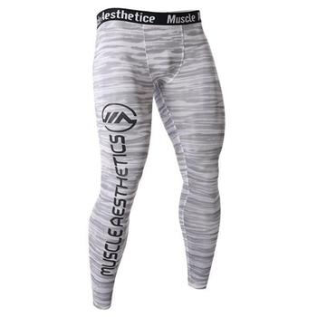 4d7135ef6 Nuevos pantalones de compresión para correr mallas de entrenamiento para  hombre Leggings deportivos para gimnasio trotar Pantalones deportivos  pantalones de ...