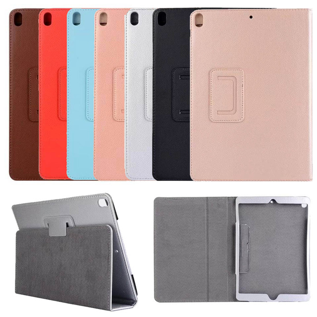 US $74 0 |Folding Stand Flip Luxury PU Leather Case For iPad Pro 10 5 inch  High Quality Fashion Folio Full Body Protective Skin Cover-in Tablets &