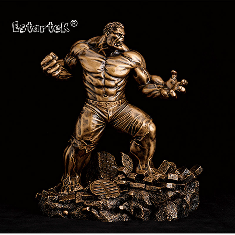 Avengers Black Panther Resin Figurine Statue Painted Bronze GK Model 1//6 Scale