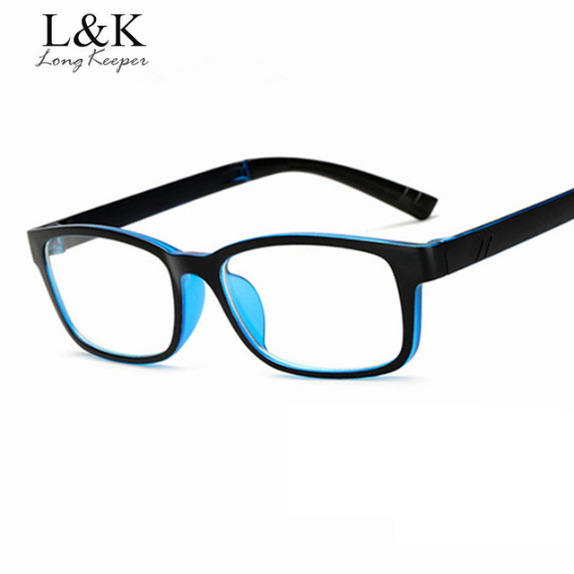 2017 Hot Square Glasses Frame Men Women Classic PC Eyewares Clear ...