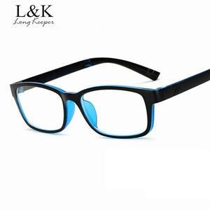 b25772c8c11 Long Keeper Glasses Frame Men Women Clear Lens Eye Glasses
