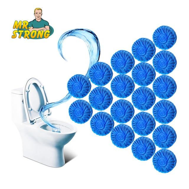 10 pz Usa E Getta Magia Automatico A Filo WC Wc Cleaner Assistente Profumato Sfe