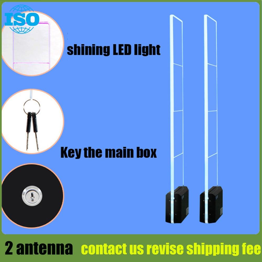 LED acrylic eas system sound and light shoplifting security system eas burglar alarm system 1set все цены