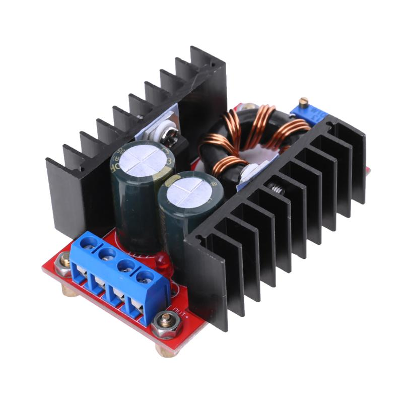 цена на DC-DC Boost Converter DC DC Step Up Converter Module Adjustable Static Power Voltage Regulator 10-32V to 12-35V Step Up 150W 6A