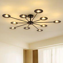 Modern LED chandelier ceiling living room pendant lamp nordic fixtures bedroom hanging lights home suspension luminaire