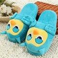 Сова Плюшевые Тапочки Pantoufle Femme Женская Обувь Женщина Дом Животных Теплый Большой Животных Женщина Смешные Взрослых Тапочки