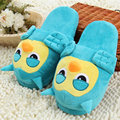 Owl Plush Slippers Pantoufle Femme Women Shoes Woman House Animal Warm Big Animal Woman Funny Adult Slippers
