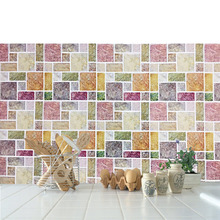 Customized New Arrival Mosaic Resin Wall Tile Sticker Price