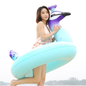 Giant Swimming Ring Flamingo Unicorn Inflatable Pool Float Swan Pineapple Floats Toucan Peacock Water Toys boia piscina 1