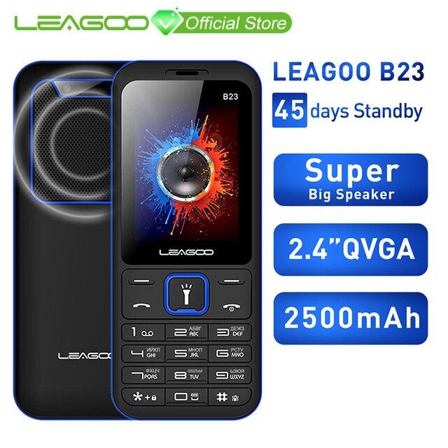 LEAGOO B23 телефон с функцией телефона старшие дети мини телефон клавиатура с русским шрифтом 2G GSM кнопочный Ключ сотовый телефон