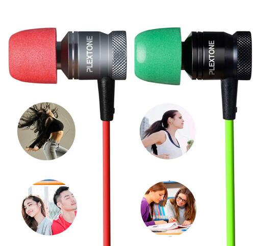 Drop shipping PLEXTONE G10 in ear earphone gaming Headset sports Stereo Bass headphones with microphone for mobile phone plextone g20 in ear earphone with microphone wired magnetic gaming headset stereo bass earbuds computer earphone for phone sport