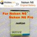 Neken N6 Batería 100% Original 2000 mAh de Copia de seguridad Batería de repuesto para Neken N6/Neken N6 Pro Smartphone Envío Gratis