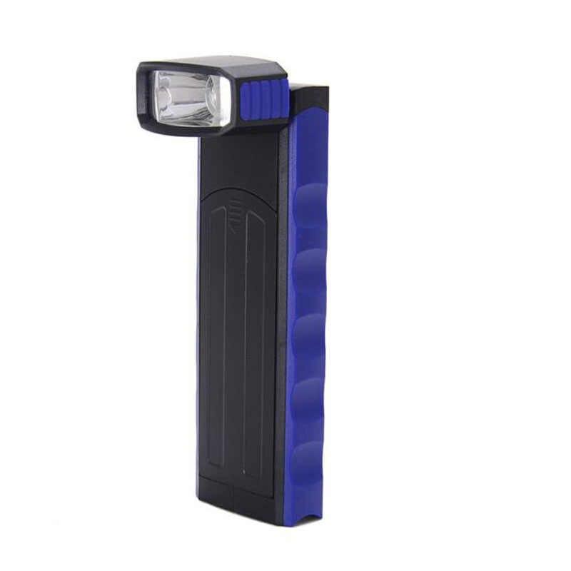 Linterna LED COB súper brillante ajustable lámpara de inspección lámpara de mano linterna magnética tienda de campaña linterna con gancho magnético
