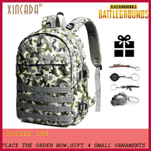 XINCADA Backpack Level 3 15.6 inch Laptop GTX 1060 for Men Students Gift Water Resistant Camuflaje Tactical Bag