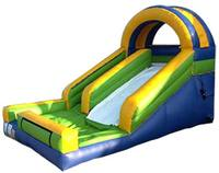 2016 Classic Dual PVC Inflatable Slide Outdoor Playground Plastic Slide For Kids And Adults For Sale