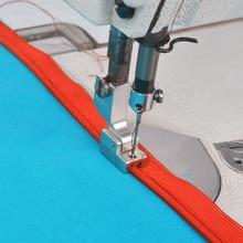 Máquina de coser Industrial cremallera prensadora pie cremallera S518N utilizado para JUKI DDL-5550, 8300, 8700, 555, 227 6 # S518N 7yj77