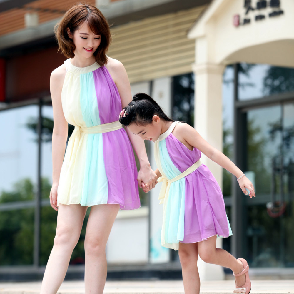 Mother Daughter Matching Dresses Limited New 2015 Love Children ...