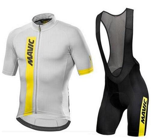 2018 font b Pro b font Team Men s Short Sleeve Cycling Jersey Sets Summer Cycling