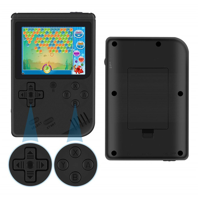 "RetroMini 3.0"" Display - Pocket Console with 168 Games 5"