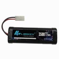 1pcs Rechargeable Battery Pack 3500mah SC 7 2v Ni Mh Battery NiMH Batterie 7 2v Rc