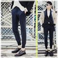 Brand Mens Joggers Pants Hip Hop Skinny Men Pants Joggers Fashion Harem ankle-length Beam foot pants Men