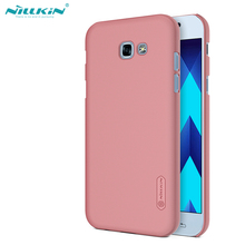 "NILLKIN for samsung a5 2017 case 5.2"" Frosted hard Plastic back cover with Screen Protector for samsung galaxy a5 2017 capa"