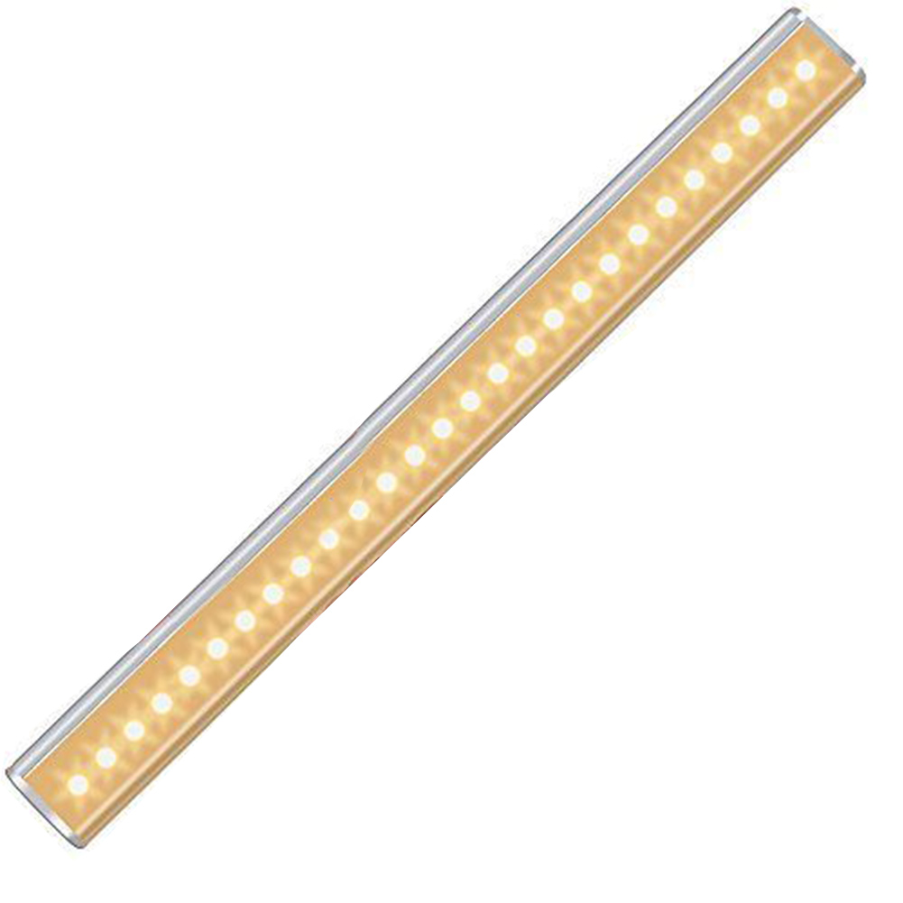 27 LED Wardrobe Stick On PIR Motion Sensor Rechargeable Lamp Cabinet Nightlight Kitchen Under