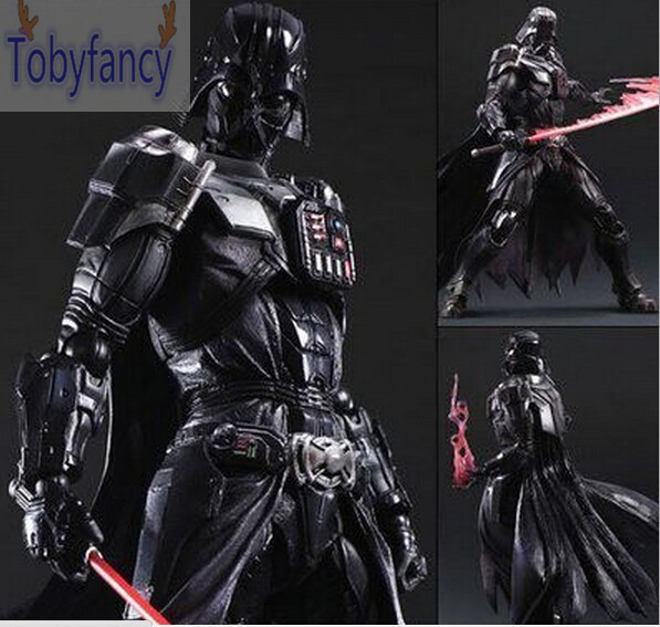 Star Wars Action Figure Playarts Kai Darth Vader Toys Collection Model PVC 275mm Star Wars Vader Play arts Kai T playarts kai star wars stormtrooper pvc action figure collectible model toy