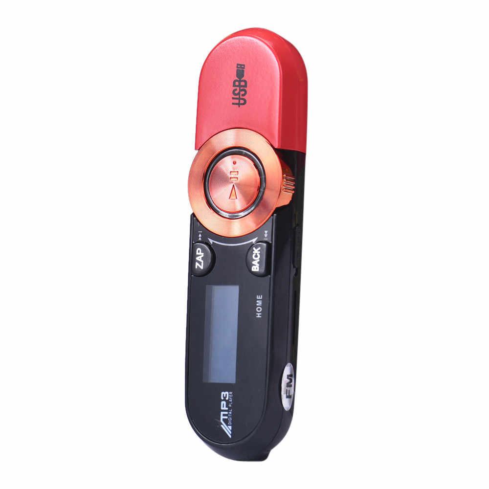 USB ЖК-дисплей Screen16GB Поддержка флэш-памяти TF плеер MP3 музыкальный плеер FM радио