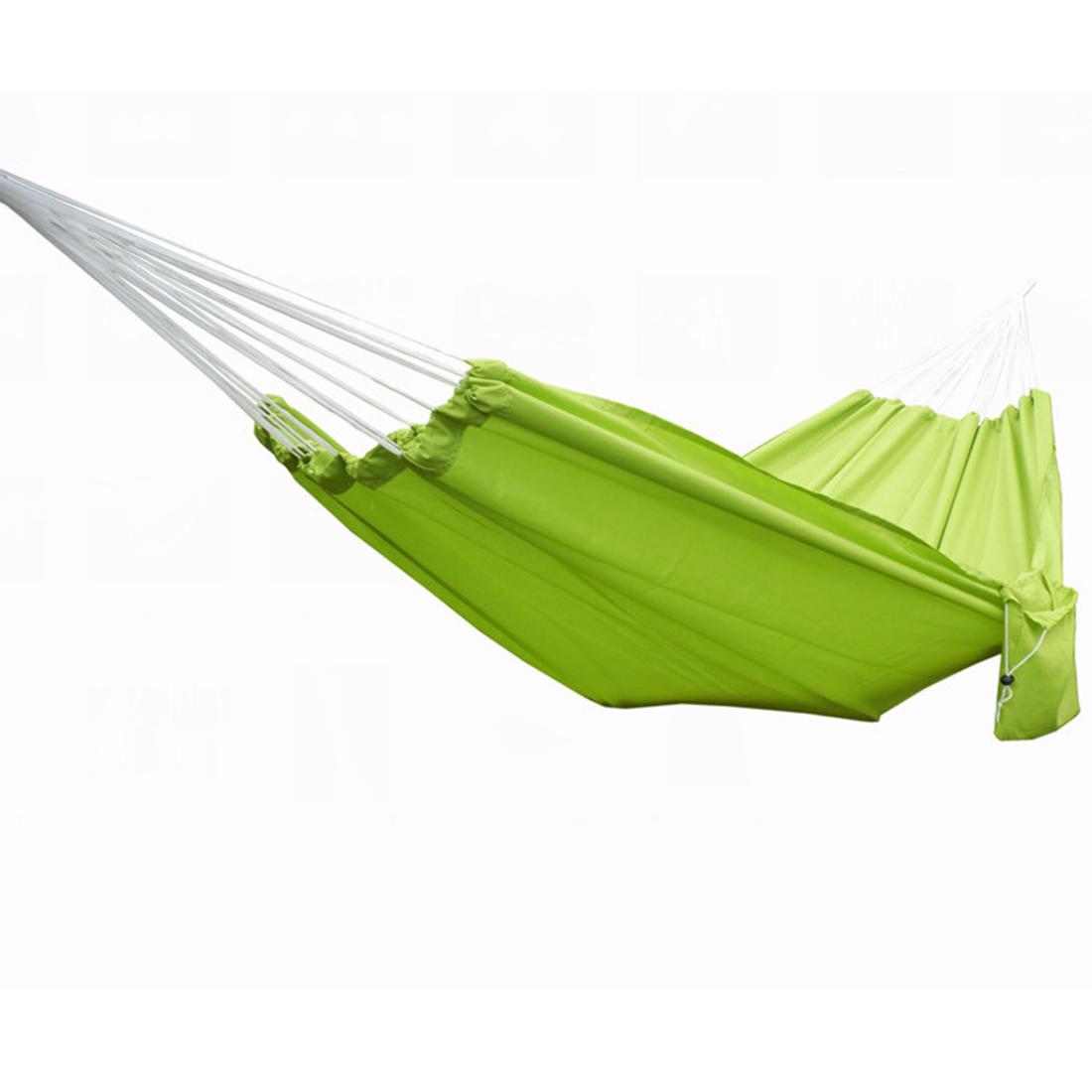 Tragbare Double Hängematte Hängenden Schaukel Bett Mit Aufbewahrungstasche  Für Camping/Wandern/Strand(China