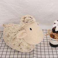 Creative Handmade Cloth Doll Upscale Cute Sheep for Door Stop Bookends Sofa Decoration Lumaki