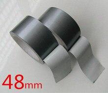 48 ММ * 20 м Сильный Серый Протока Клейкой Водонепроницаемой Лентой ковер ленты, офис клейкой ленты бесплатная доставка