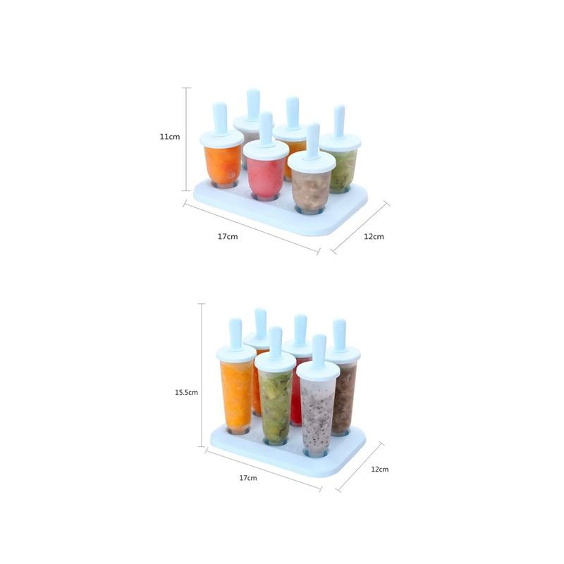 1Set Evdə Dondurma Popsicle Kalıp Yaradıcı Yay Dondurma qutusu - Mətbəx, yemək otağı və barı - Fotoqrafiya 6